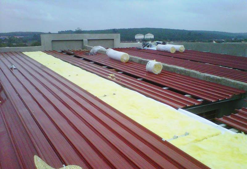 Metal Deck Sheet Roofing Metal Roof Malaysia Steel Roof